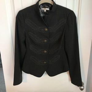 CAbi military style steampunk jacket size 0